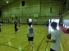 バスケ部の見学