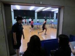 卓球部の見学