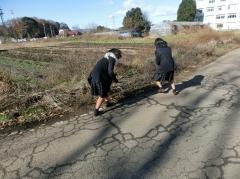 通学路清掃