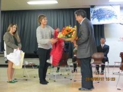 遠藤先生へプレゼント