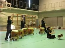演奏「和太鼓部」