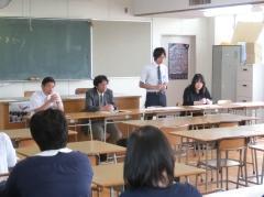 学年懇談会