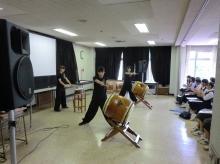 (第2回)和太鼓演奏の様子