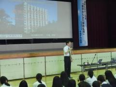 中島教授の講演