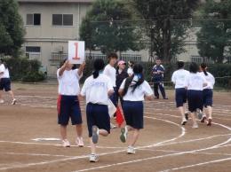 1000m走(女子)
