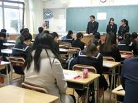 生徒も参加します。