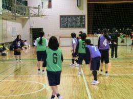 学年球技大会(女子:バスケ)