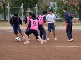 学年球技大会(男子:サッカー)