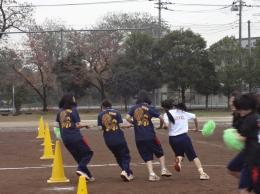 ミニ体育祭(台風の目)
