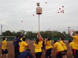 ミニ体育祭(玉入れ)