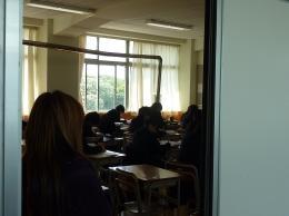 授業見学の様子