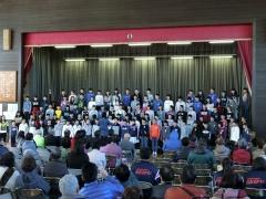 新町小学校6年生の合唱